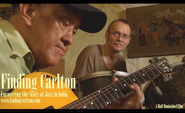 Still from Finding Carlton, a documentary on the Story of Jazz in India