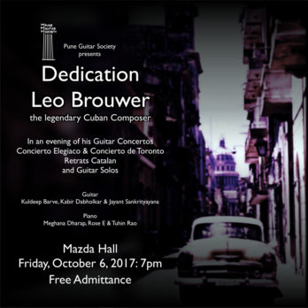 Dedication: LEO BROUWER